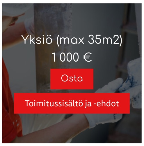Sorcolorin hinnoittelu ei tästä selkeämmäksi voi muuttua. Yksikön maalaaminen maksaa tonnin. Kaksion kaksi tonnia. Osaatko arvata, paljonko kolmion maalaaminen maksaa?