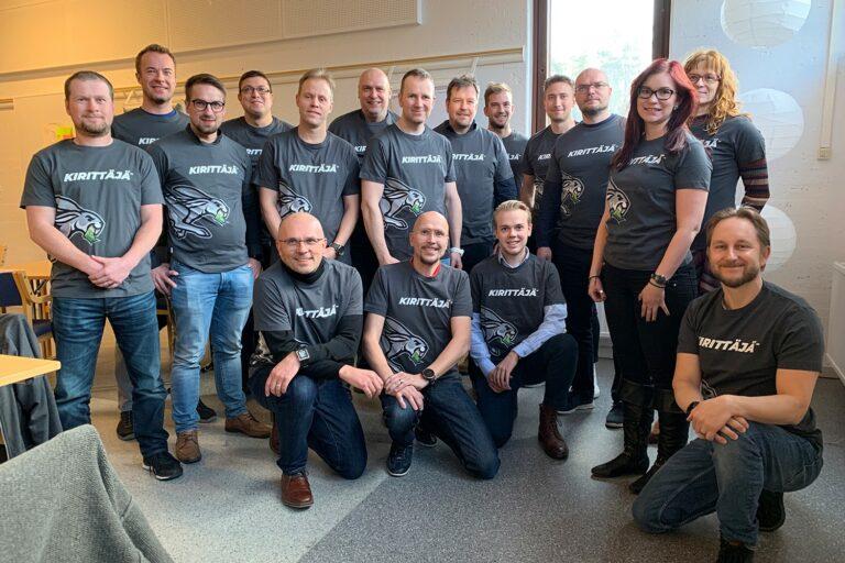 Tuotteistusprojekti & Lehdon Kirittäjä -tiimi